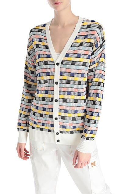 M MISSONI Cardigan White Woman - Front
