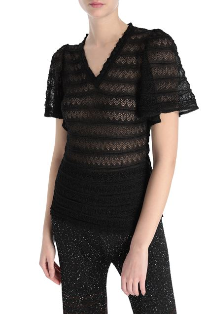 M MISSONI V-Neck Black Woman - Front