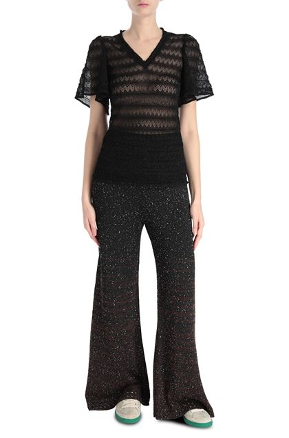 M MISSONI V-Neck Black Woman - Back