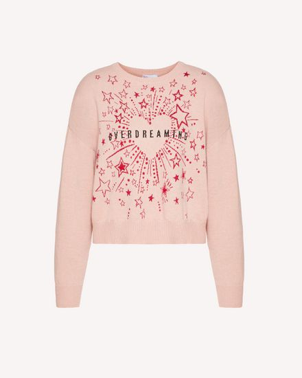 REDValentino Knit Sweater Woman TRCKC00K56P 377 a