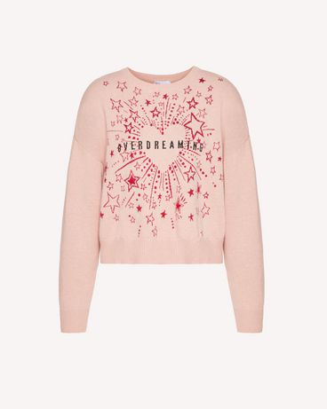 REDValentino TRCKC00K56P 377 Knit Sweater Woman a