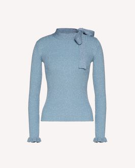 REDValentino Cotton lurex sweater