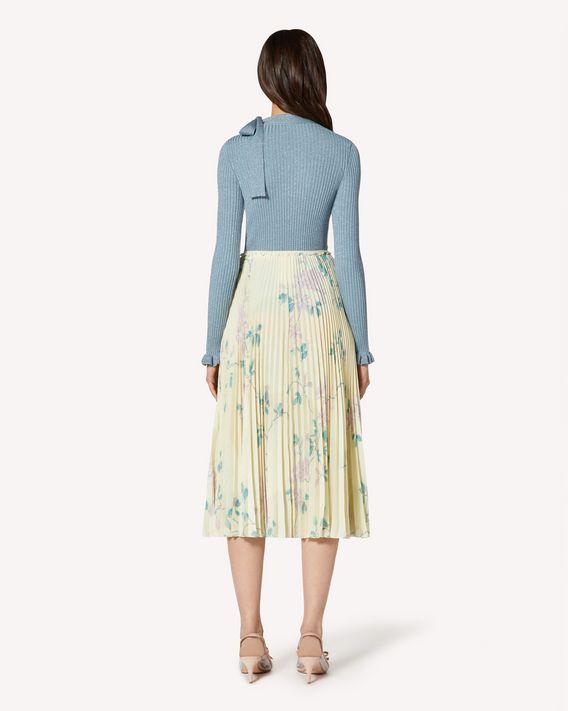 REDValentino Cotton lurex sweater