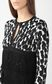 JUST CAVALLI Leopard-spot cardigan with fringe Sweater Woman e