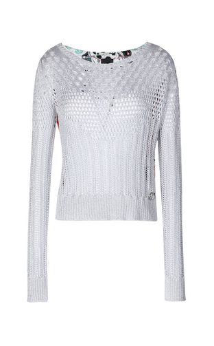 JUST CAVALLI Sweater Woman Pullover with print design f