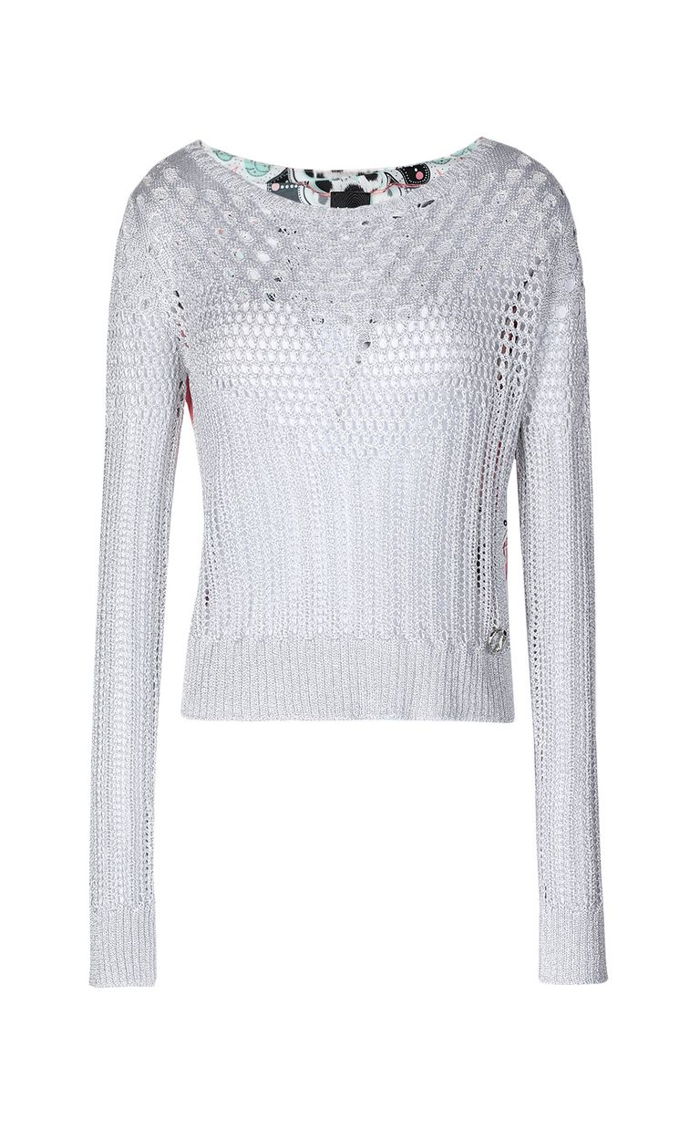 JUST CAVALLI Pullover with print design Sweater Woman f