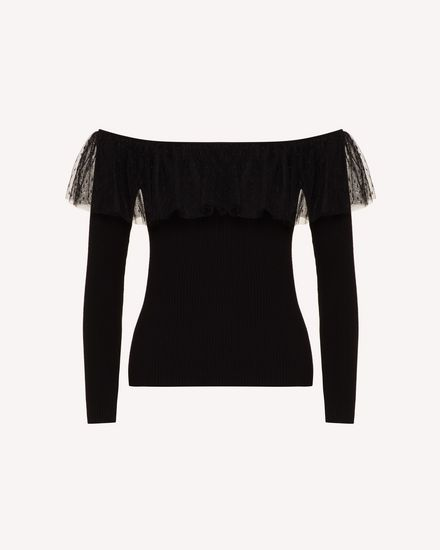 REDValentino Knit Sweater Woman TR0KCD00542 0NO a