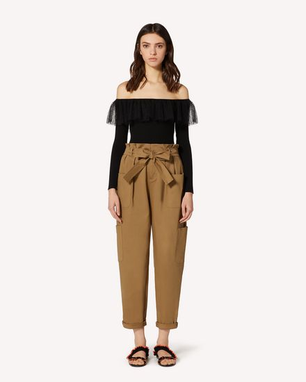 REDValentino Knit Sweater Woman TR0KCD00542 0NO f