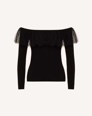 REDValentino TR0KCD00542 0NO Knit Sweater Woman a