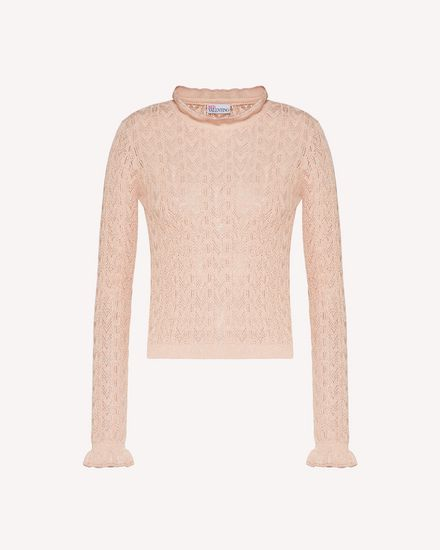 REDValentino Knit Sweater Woman TR3KCC094W3 377 a