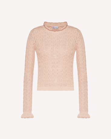 REDValentino TR3KCC094W3 377 Knit Sweater Woman a