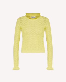 REDValentino Knit Sweater Woman TR3KCC094W3 11P a
