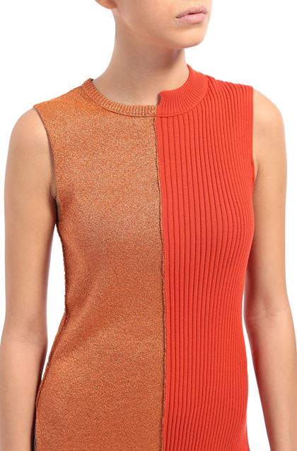 M MISSONI Sweater Orange Woman - Front