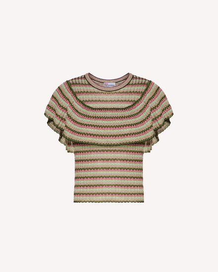 REDValentino Knit Sweater Woman TR0KCC9653N 0NO a