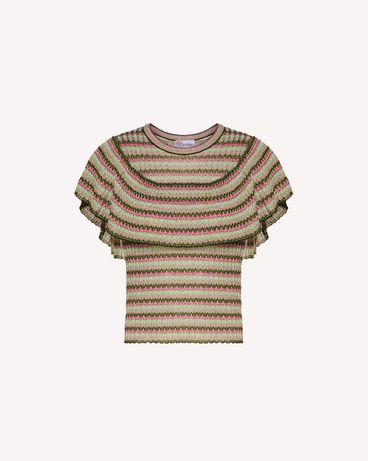 REDValentino TR0KCC9653N 0NO Knit Sweater Woman a