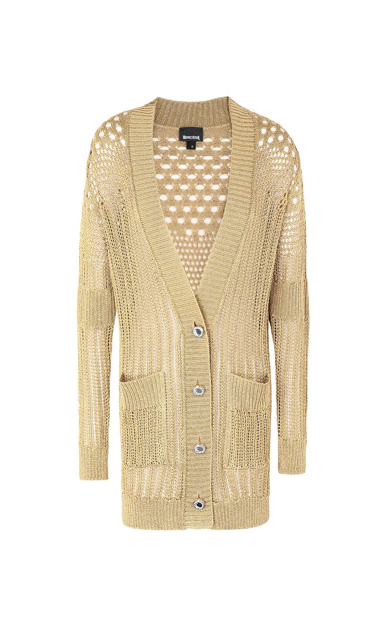 JUST CAVALLI Long cardigan Cardigan Woman f