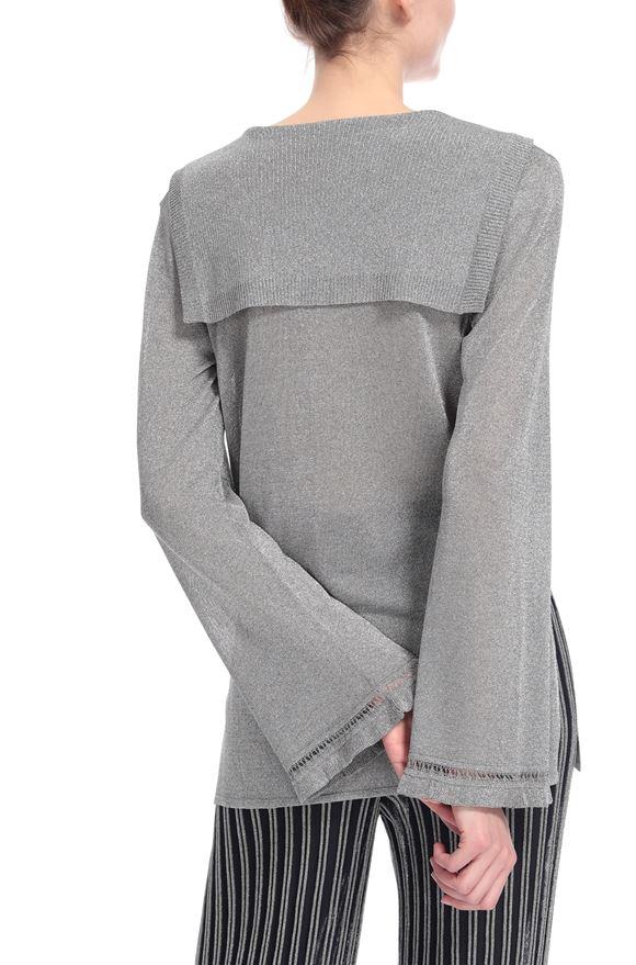 M MISSONI Топ с v-образным вырезом Для Женщин, Вид сзади