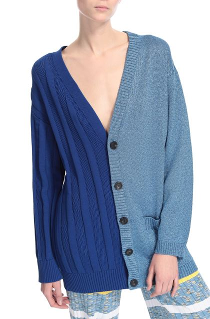 M MISSONI Cardigan Blue Woman - Front