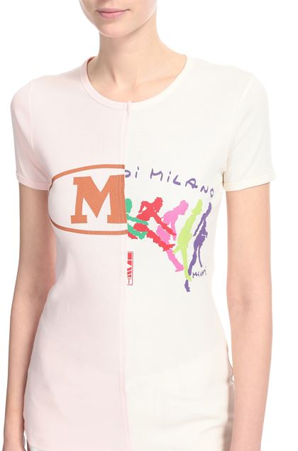 M MISSONI T-shirt Ivory Woman - Front