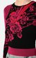 JUST CAVALLI Moving-Roses-print pullover Sweater Woman e