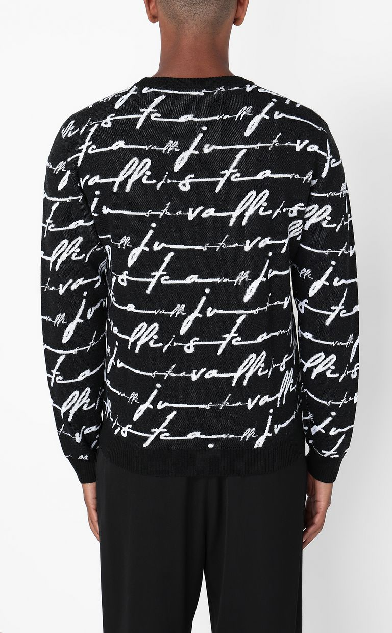 JUST CAVALLI Just-Cavalli-Signature pullover Long sleeve sweater Man a