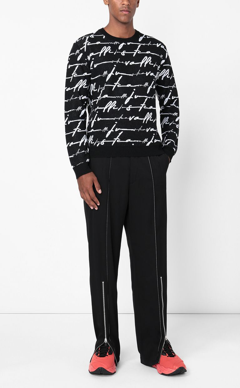 JUST CAVALLI Just-Cavalli-Signature pullover Long sleeve sweater Man d