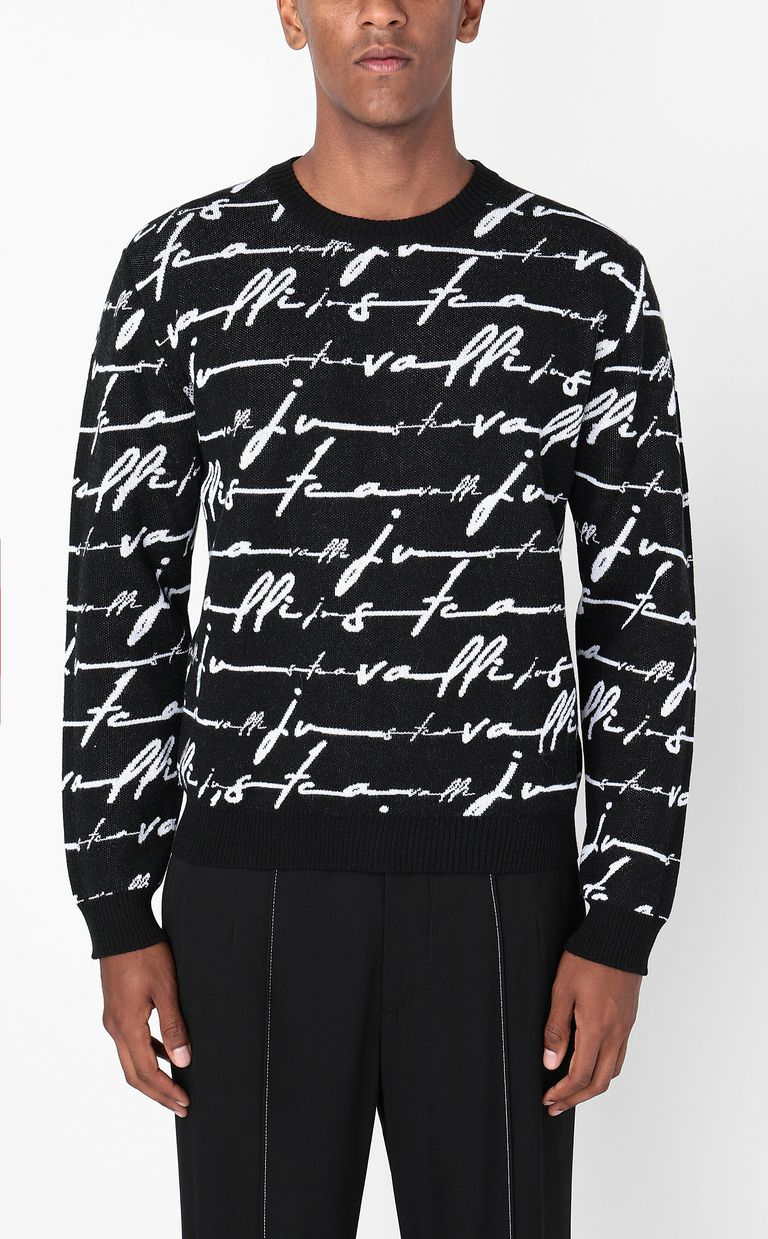 JUST CAVALLI Just-Cavalli-Signature pullover Long sleeve sweater Man r