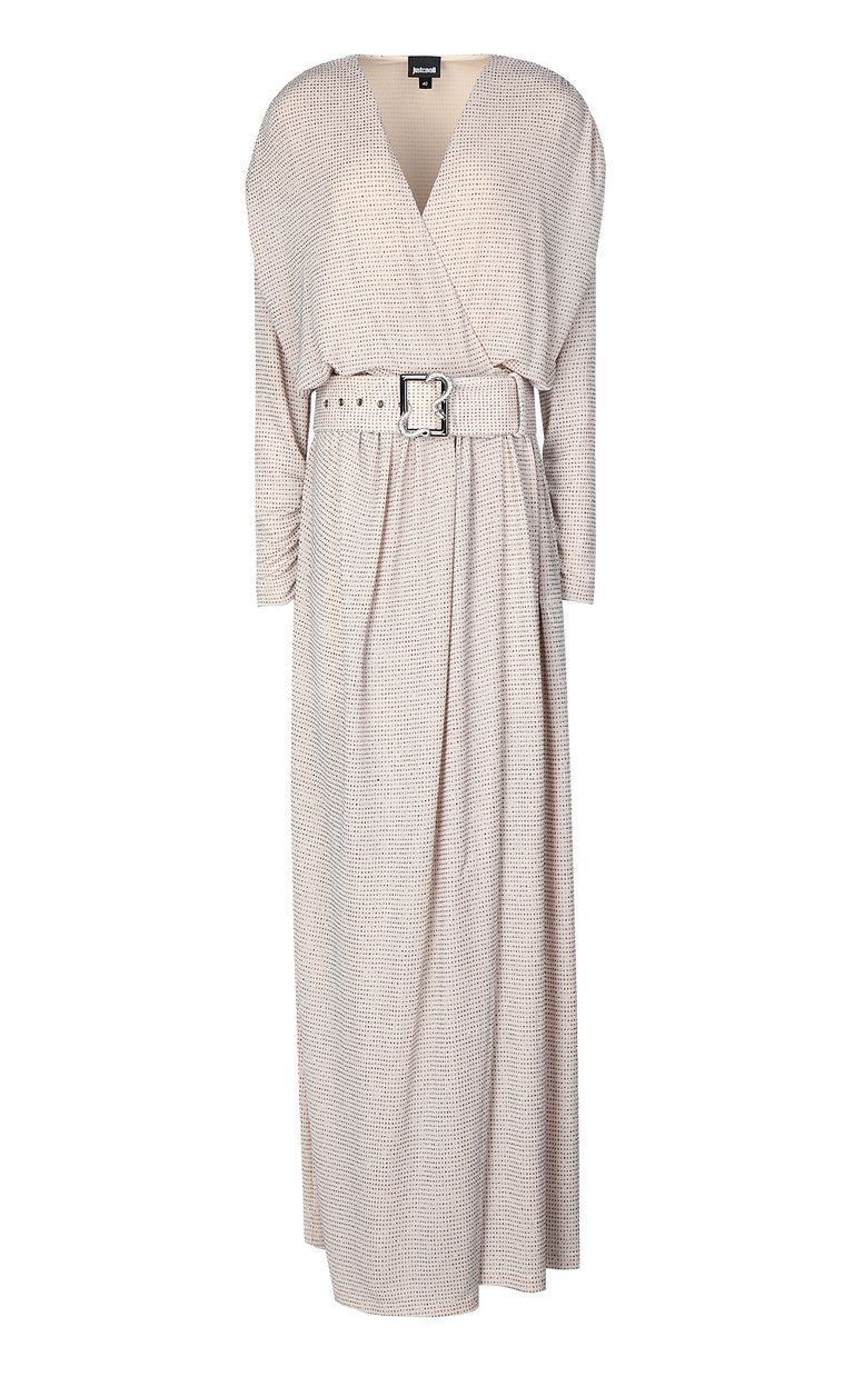 JUST CAVALLI Full-length dress with crystals Long dress Woman f