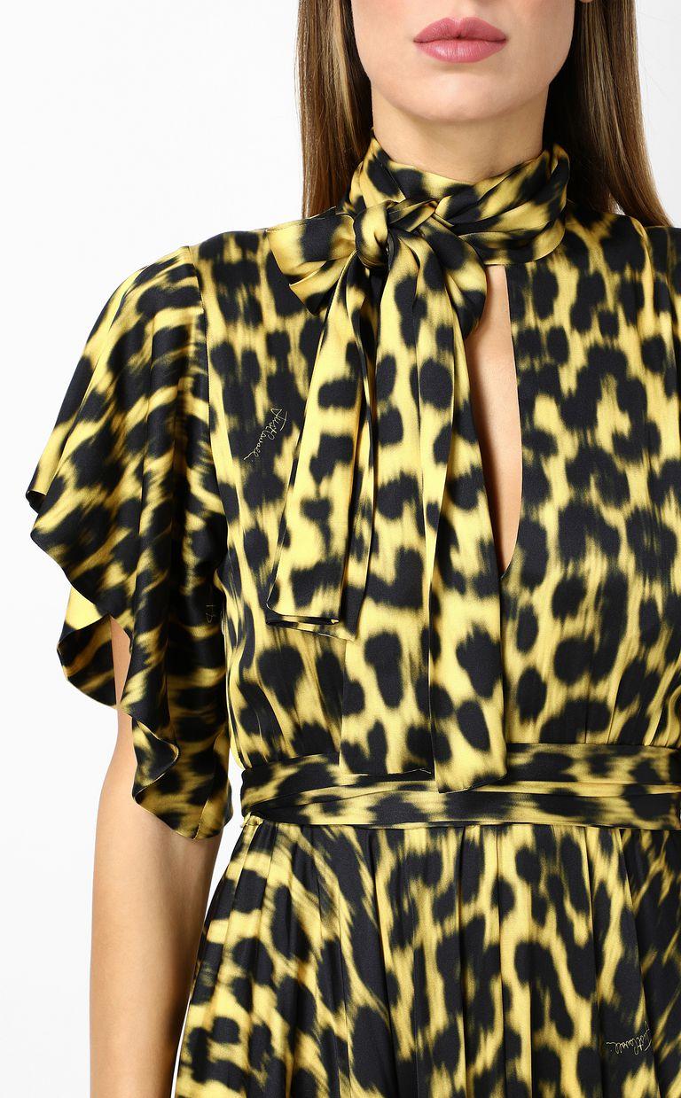 JUST CAVALLI Leopard-print long dress Long dress Woman e