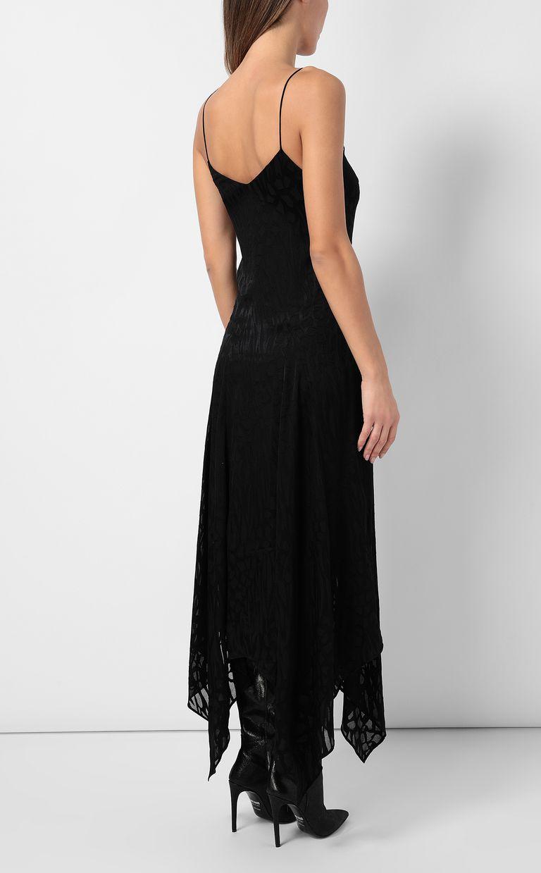 JUST CAVALLI Leopard-print long dress Dress Woman a