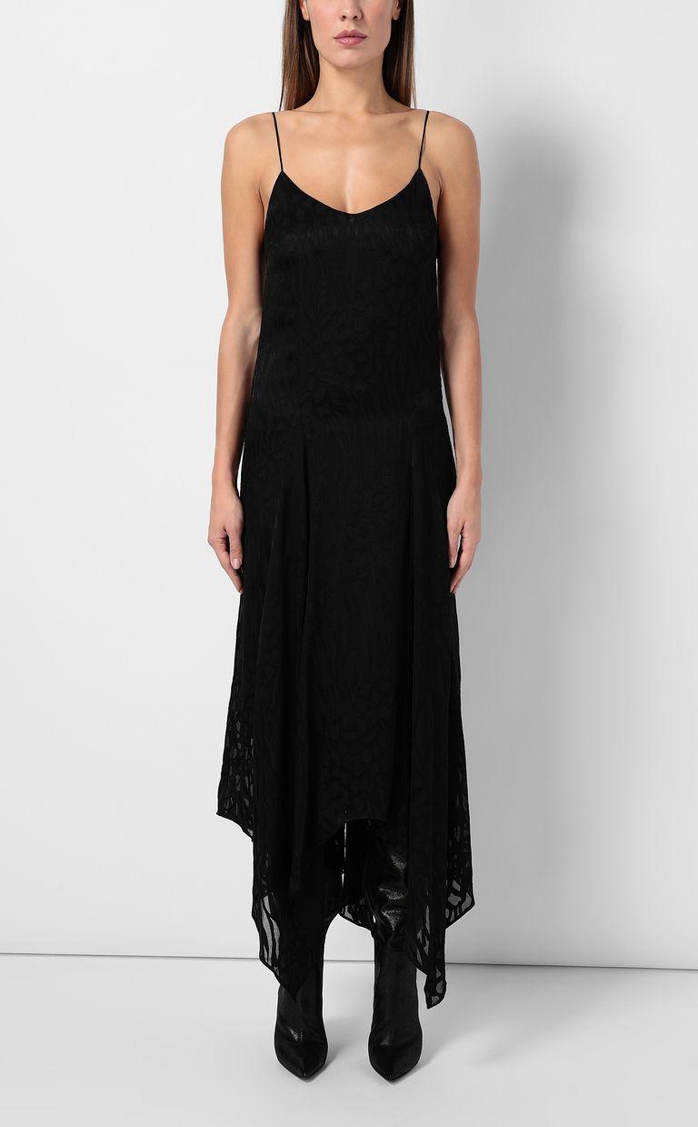 JUST CAVALLI Leopard-print long dress Dress Woman r