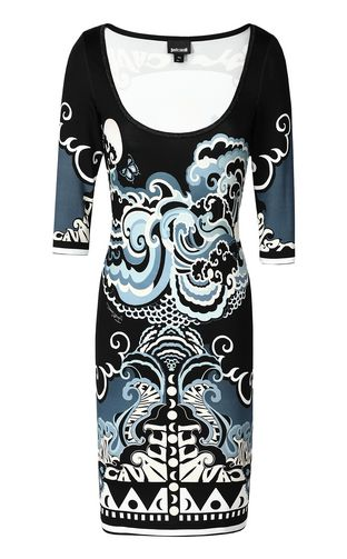 JUST CAVALLI Dress Woman Phoenix-and-leopard print dress f