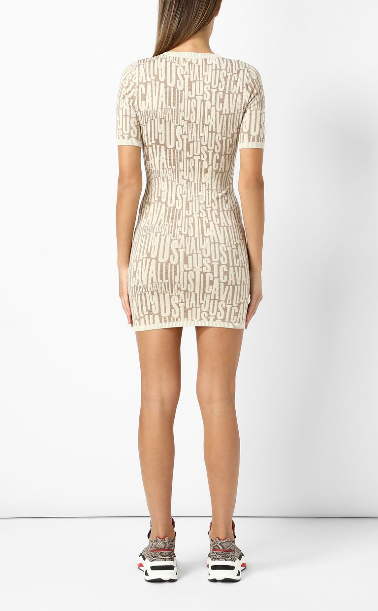 JUST CAVALLI Short dress with logo Dress Woman a