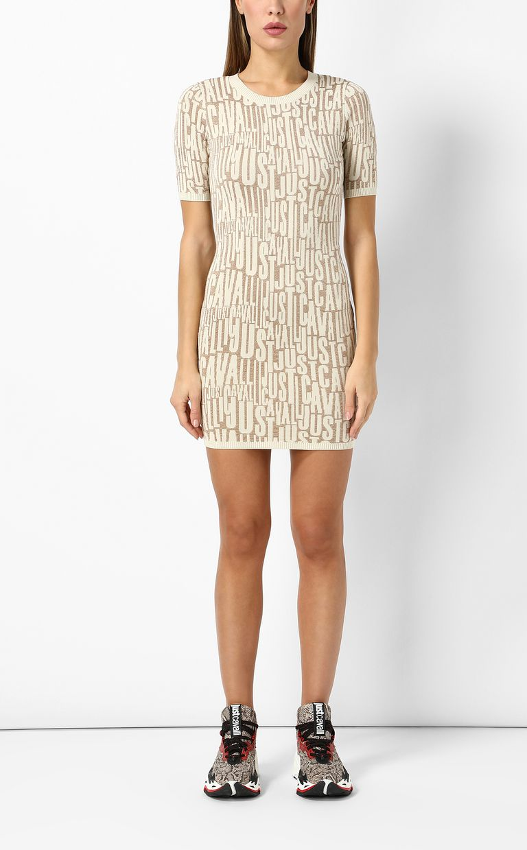 JUST CAVALLI Short dress with logo Dress Woman r