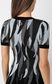 JUST CAVALLI Short dress with feather print Dress Woman e