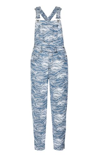 JUST CAVALLI Jumpsuit Woman Denim dungarees f