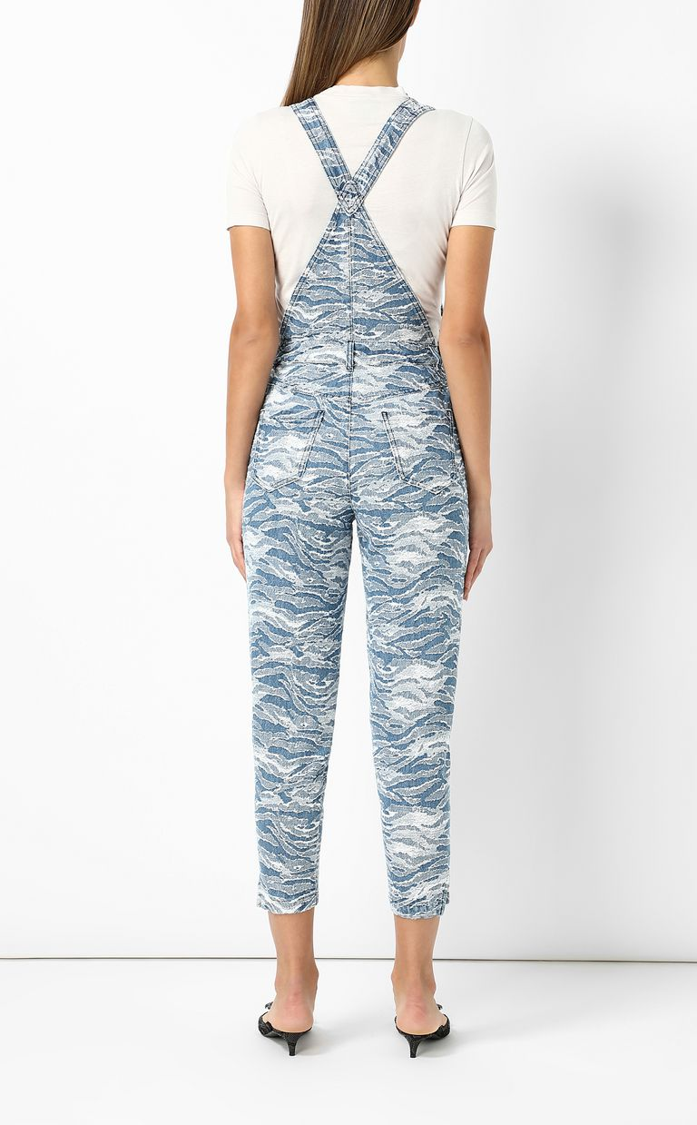 JUST CAVALLI Denim dungarees Jumpsuit Woman a