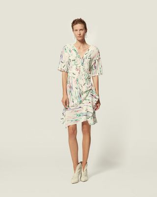 ISABEL MARANT SHORT DRESS Woman ARODIE DRESS r