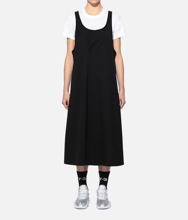 Y-3 Kleid Dame Y-3 Craft 3-Stripes Dress r