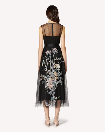 REDValentino TR3VA12G4T4 0NO Long and midi dresses Woman r