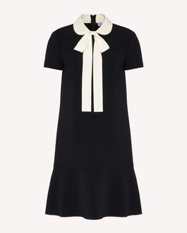 REDValentino Frisottino dress with collar detail