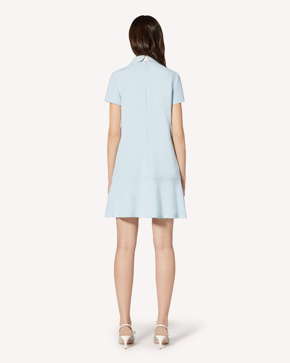 REDValentino Frisottine dress with collar detail