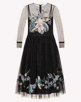 REDValentino Long and midi dresses Woman TR3VA11K4TG 0NO a