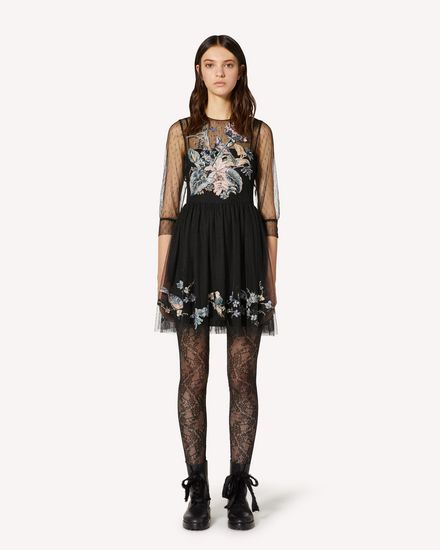 REDValentino Short dress Woman TR3VA12F4T4 0NO f