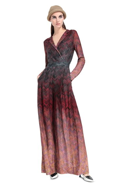 MISSONI Jumpsuit Maroon Woman - Back
