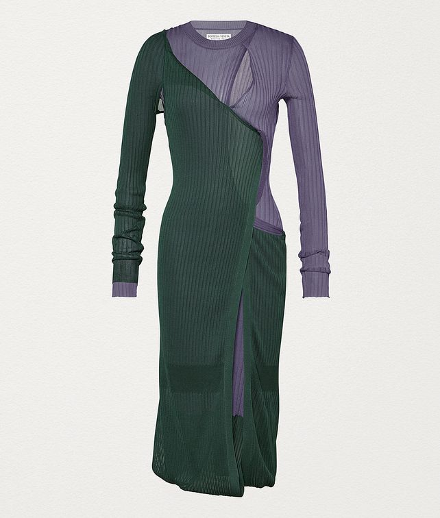 BOTTEGA VENETA DRESS IN SILK Dress Woman fp