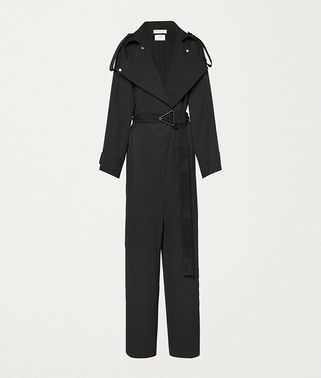JUMPSUIT IN COMPACT COTTON