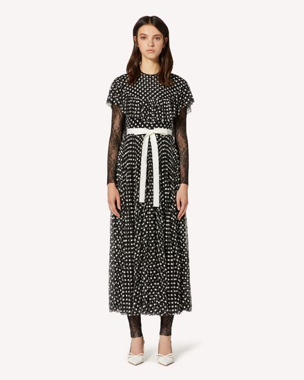 REDValentino Long and midi dresses Woman TR3VA11J4SR 0NO f