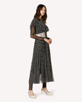 REDValentino Buttercup embroidered tulle dress