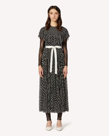 REDValentino TR3VA11J4SR 0NO Long and midi dresses Woman f